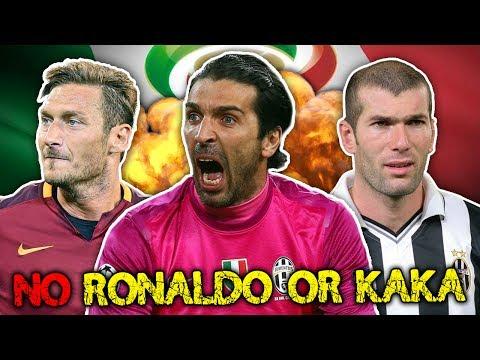 Serie A's Greatest Ever XI! | Zidane, Pirlo & Totti