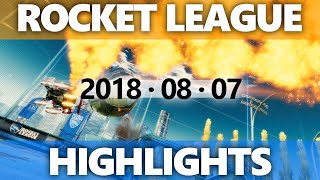 Rocket League Highlights 2018 08 07