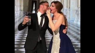 ميريام فارس ترقص مع شاب وسيم في حفل زفاف .. والجمهور يتساءل من هو؟