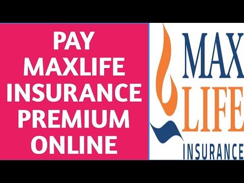 Pay Max Life Insurance Premium Online