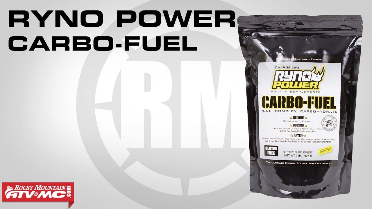 New Ryno Power Motocross 2 lbs Training CARBO-FUEL Protein Powder