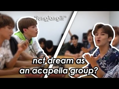 why i love a good nct dream vlive #1