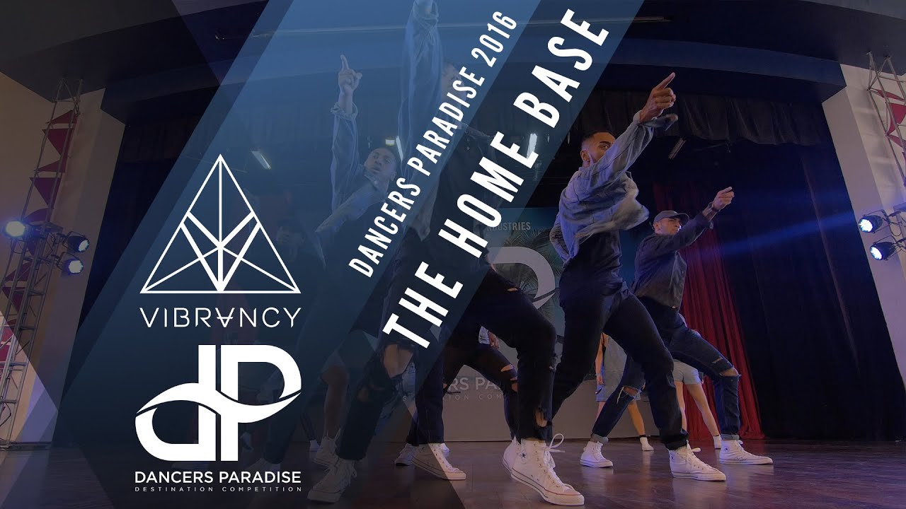 3rd Place The Home Base Dancers Paradise 2016 VIBRVNCY Front