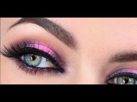 Pink And Brown Evening Look Youtube