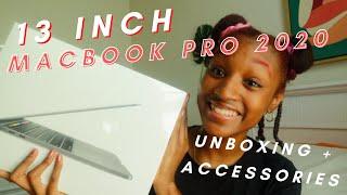 13 Inch Macbook Pro 2020 Unboxing + Accessories