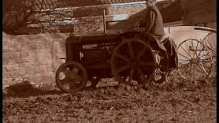 PLOUGHING WITH 1935 FORDSON AND JERSEY PLOUGH. VIDEO2