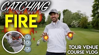 CATCHING FIRE! Course Management Vlog at Tour Venue