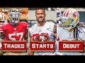 Live! 49ers Trade Eli Harold To Lions, Mark Nzeocha Starts, Richard Sherman Debut vs Colts