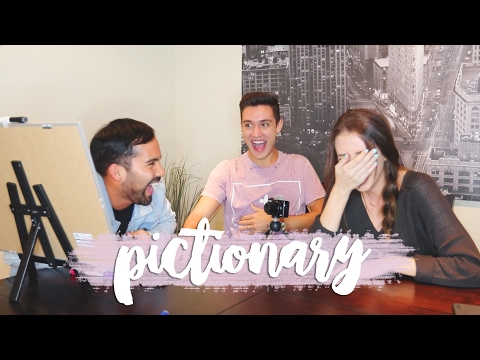 PICTIONARY WITH MY HUSBAND & BRI-GUY