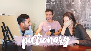 pictionary with my husband bri guy