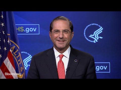 HHS Sec. Azar on Drug Price Disclosure and 'Broken' Obamacare Market