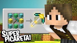 Minecraft Épico #105: CONHEÇA A PICARETA MAIS OP DO ÉPICO! (MELHOR QUE A ULTIMATE!)
