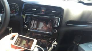 2015 Golf 7, Golf 7 GTI, Composition Media, Discovery Media car navigation interface
