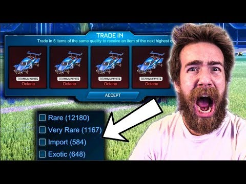 The Biggest Rocket League Trade-up Episode Of My Entire Life