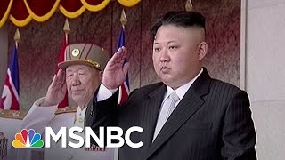 US Targets North Korean Missiles Before They Launch | Rachel Maddow | MSNBC