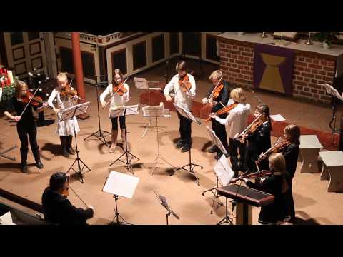 O. Rieding h-moll op.35 /  Auld lang Syne - Greensleeves/ Daniel Thieme und Bergedorfer Geigenmäuse