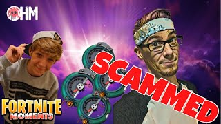 SCAMMER SCAMS A GENEROUS OHM-FORTNITE SAVE THE WORLD