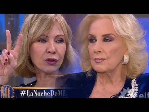 La grieta entre Mirtha Legrand e Inés Estévez