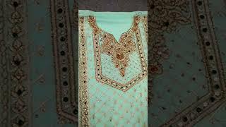 S.F. Designer Pakistani 3 Piec…