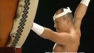 上光(栃木県) It is a picture of taiko festival in Saitama super a...