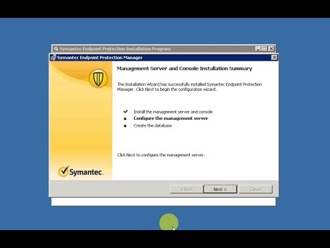 Install Symantec Endpoint Protection Manager 14.0