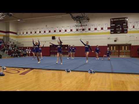 Brockport High School  Monroe County Cheerleading February 2018 C2