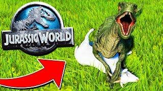 LIBERIAMO I DINOSAURI NEL NOSTRO JURASSIC PARK!! - Jurassic World Evolution