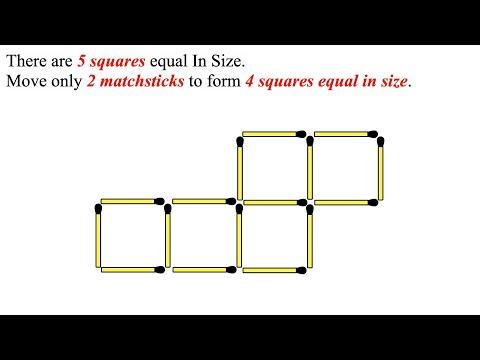 Reduce 5 Squares