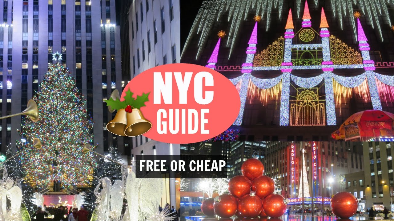 new york city christmas travel guide free or cheap things to do - Things To Do In Nyc During Christmas
