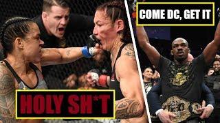 Jones vs Gustafsson 2, Nunes vs Cyborg    Highlight fight & conference