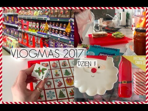 VLOGMAS 2017: DZIEŃ 1! |CLAU