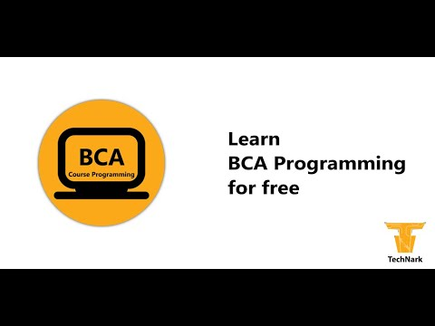 BCA Course For Pc Download 2020 (Windows 7, 8, 10 And Mac Os)