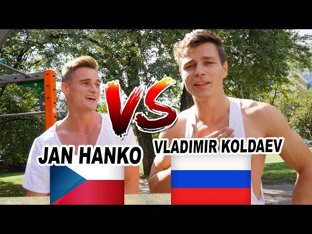 WORKOUT CHALLENGE #2 | Hanzi vs. Vova