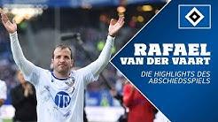 Das Abschiedsspiel von Rafael van der Vaart | Highlights und Interviews