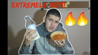 EXTREMELY SPICY NOODLES CHALLENGE (hot)