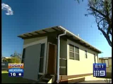 Carbon Neutral Low Cost Homes Today Segment Youtube