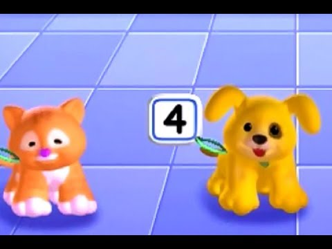 Fisher Price Little People Game : Puppy And Kitty Travel : Learn Numbers