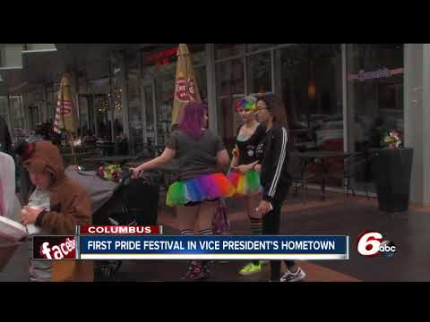 More than 2K attend Pride Festival in VP Pence's hometown of Columbus