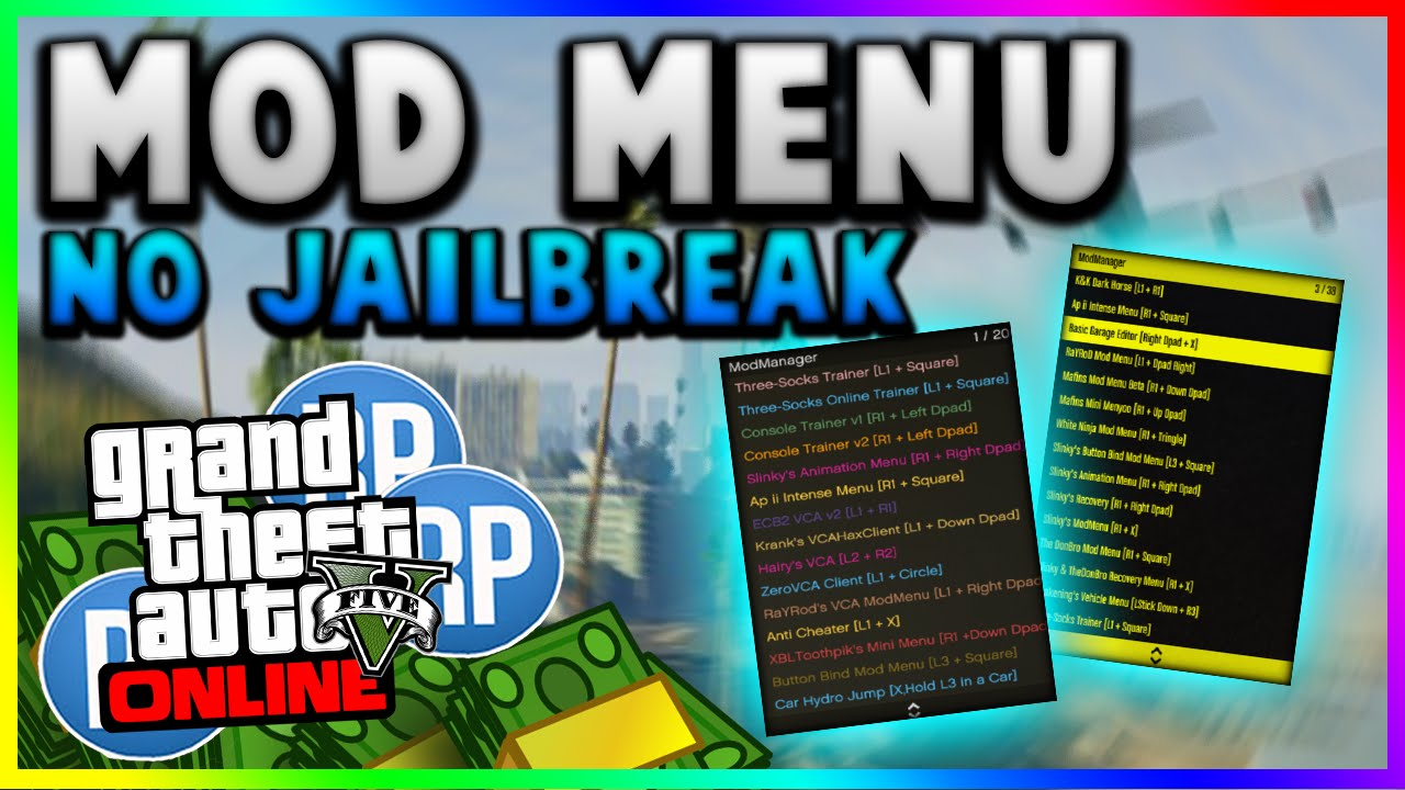 How To Install Gta 5 Online Mod Menu Xbox 360 How To Install GTA 5