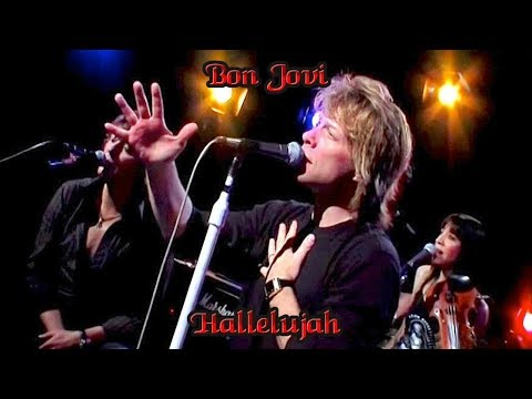 Bon Jovi -Hallelujah ( Lyrics )