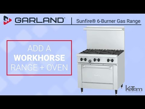 Garland SunFire® 6-Burner Gas Range
