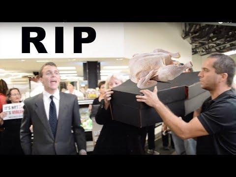 VEGAN Funeral For A Frozen Chicken