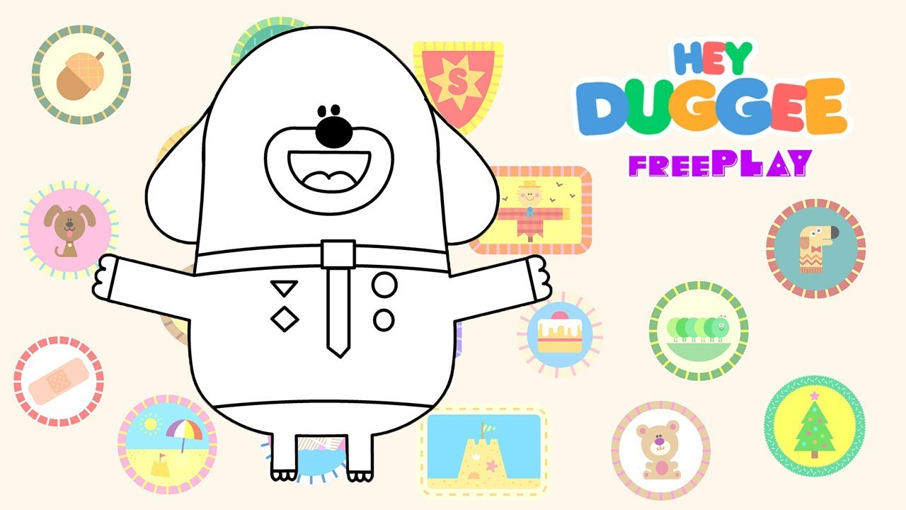 hey duggee colouring app  youtube