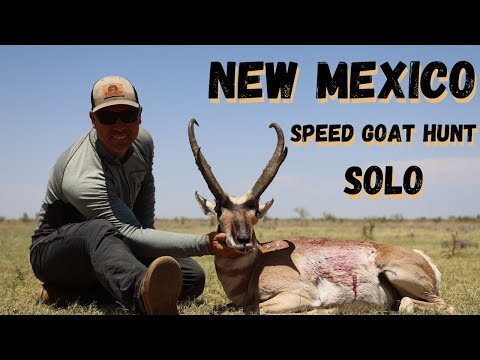 SOLO DIY PRONGHORN HUNT NEW MEXICO