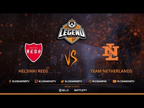 Helsinki REDS vs Team Netherlands | Match 1 | Group B | Legend Series: Overwatch