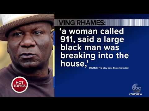 Ving Rhames Says Cops Pulled Guns On Him In His Own Home | The View