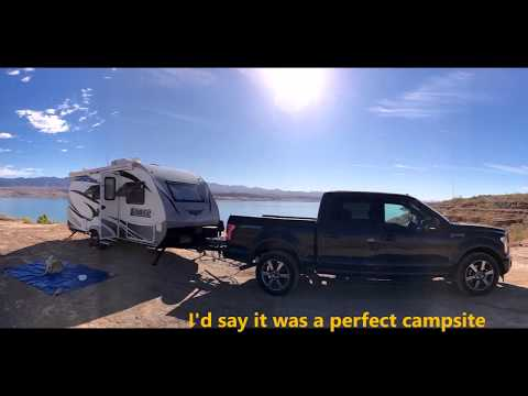 Campout at Lake Mead BLM Free Camping