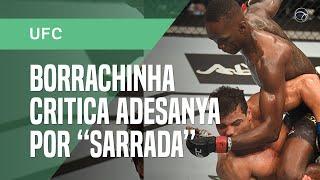 """Borrachinha diz que vai """"arrancar a cabeça"""" de Adesanya por sarrada no UFC"""