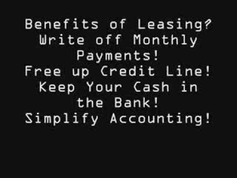 Equipment Lease, Restaurant, Heavy, Car Wraps, Bad Credit, Start-ups, etc. . .