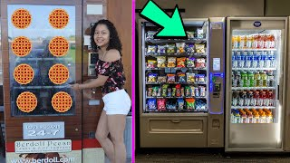 The WEIRDEST Vending Machine I Have EVER Seen!!!